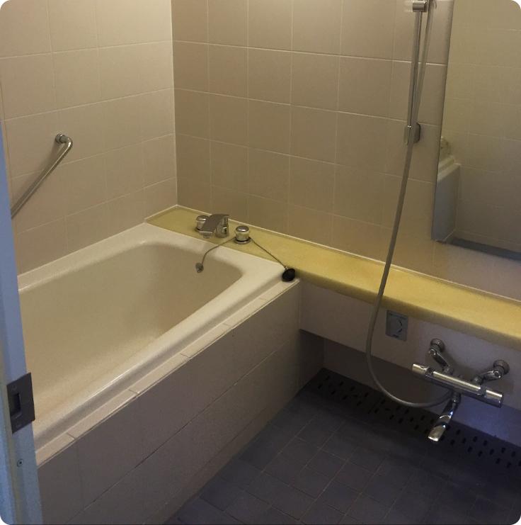 浴室のリフォームBefore