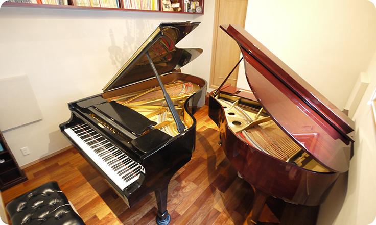 【戸建て】住宅ピアノ練習室Before
